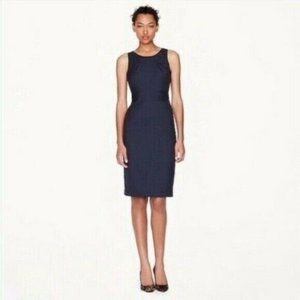 J. Crew Emmaleigh Front Pocket Top Pleated Dress